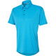 Ziener Canot - Maillot manches courtes Homme - turquoise